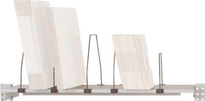 Packpool archief, met 7 stalen beugels, draagvermogen 75 kg, voor tafelbreedte 1500 mm