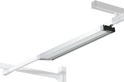 Packpool LED-Langfeldleuchte, mit Prismenblende, 3 LED-Module, 5 m Zuleitung
