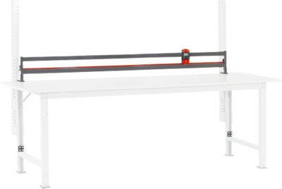 Packpool Schneidgerät, 1-fach, f. Packpool Packtische, B 2000 mm
