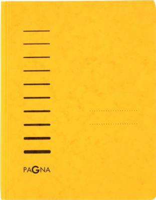 PAGNA Schnellhefter, DIN A4, Karton, einzeln, gelb
