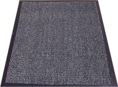 Paillason en polypropylène moucheté, 600 x 900 mm, anthracite