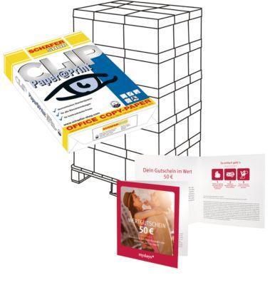 Palette Kopierpapier CLIP Paper@Print + MyDays-Gutschein, GRATIS