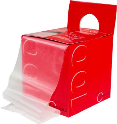Paletten-Dehnband, 100 x 1200 mm, in praktischer Spenderbox
