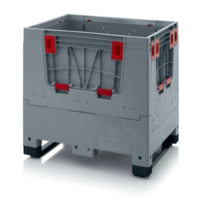 Palettenbox Big Box, 2 Kufen, 800 x 600 x 790 mm