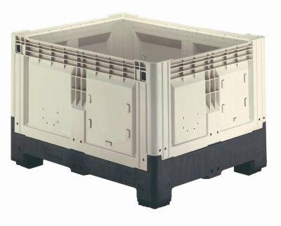 Palettenbox mit Füßen, klappbar, 905 Liter