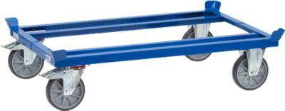 Pallet transportonderstel, 1200 x 800 mm, draagvermogen 750 kg