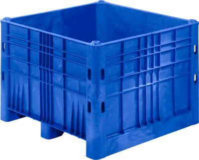 Palletbox 600l, gesloten, 40 kg