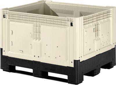 Palletbox met poten, 565 liter