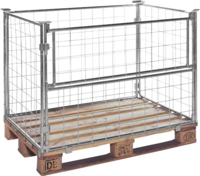 Palletframe type 64, b 1200 x d 800 x h 1000 mm