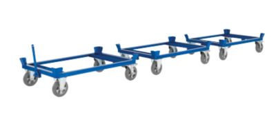 Palletonderstel op wielen, 1230 x 830 mm, tot 1.000 kg