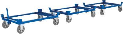 Palletonderstel op wielen, 1230 x 830 mm, tot 500 kg