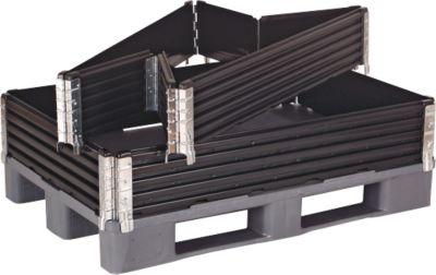Palletopzetframe, 4 scharnieren, 800 x 1200 x 200 mm