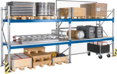 Palletstelling PR 600, aanbouwsectie, h 2500 mm, d 850 mm, max. 800 kg, 2 lengtebalken