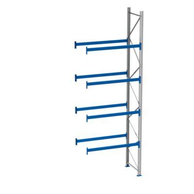 Palletstelling PR 600, aanbouwsectie, h 5800 mm, d 850 mm, max. 1000 kg, 4 lengtebalken