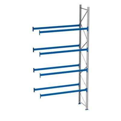 Palletstelling PR 600, aanbouwsectie, h 5800 mm, max. 800 kg, 4 lengtebalken