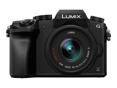 Panasonic Lumix G DMC-G70KA - Digitalkamera 14-42-mm-Objektiv