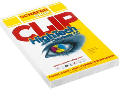 Papier CLIP Hightech Colorlaser CC, A4, 100 g/m², 250 vellen