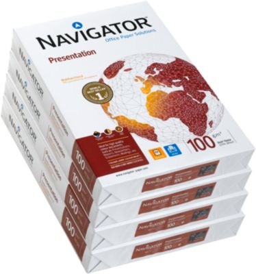 Papier NAVIGATOR Presentation, A3, 100 g/m², 2000 vel (4 x 500 vel)