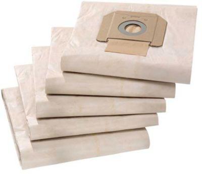 Papierfiltertüten für Nass-/Trockensauger KÄRCHER® NT 48/1 ADV, 5 Stück