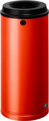 Papierkorb, 24 Liter, rot