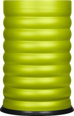 Papierkorb Lumes, Fassungsvermögen 40 Liter, verzinkter Innenbehälter, limette