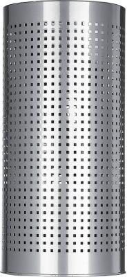 Papierkorb/Schirmständer, silber