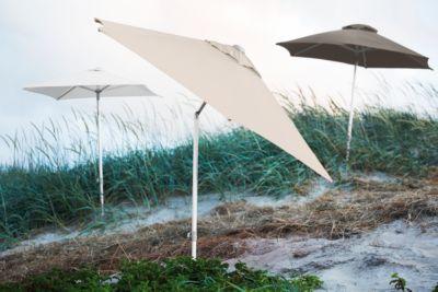 Parasol Elba, 200 x 200 cm, wit, 200 x 200 cm.