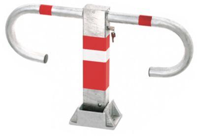 Parkeerbeugel met cilinderslot, verschillend sluitend