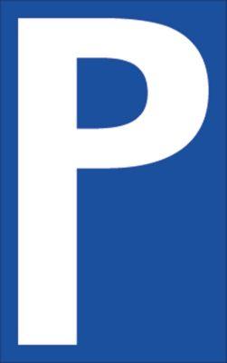 Parkeerplaatsbord (Alu-Dibond), P-bord