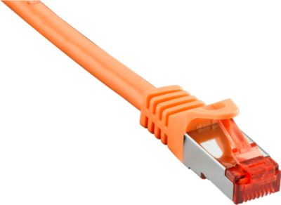 Patch-Kabel CAT6 S/FTP 0,5 m, orange