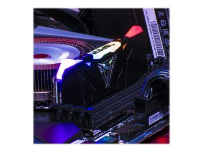 Patriot Extreme Performance Viper RGB - DDR4 - 16 GB: 2 x 8 GB - DIMM 288-PIN - ungepuffert