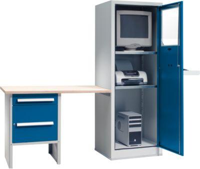 PC-Case Basic mit Anbau-Arbeitsplatz