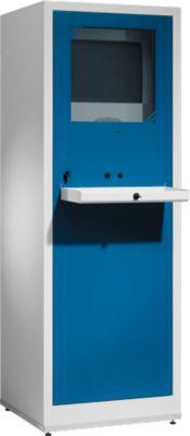 PC-Case Comfort lichtgrijs/gentiaanblauw