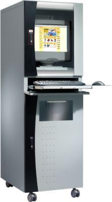 PC-Case Fokus Workstation, hellsilber/sw