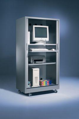 PC-Sicherheitsschrank, alusilber