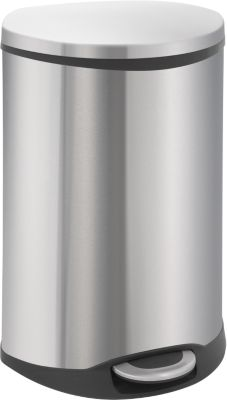 Pedaalemmer Soft Close rvs, 6 liter