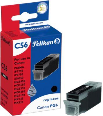 Pelikan Tintenpatrone baugleich mit PGI-550XLPGBK, schwarz (Pigmenttinte)