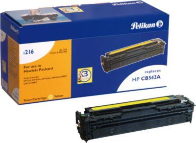 Pelikan Toner 1216 compatibel met CB-542A, geel