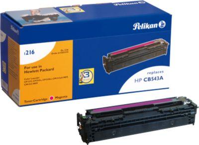 Pelikan Toner 1216 compatibel met CB-543A, magenta