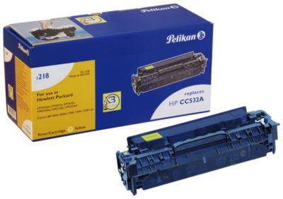 Pelikan Toner 1218 compatibel met CC-532A, geel