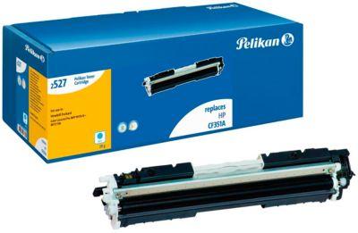 Pelikan Tonerkassette, kompatibel HP CF351A, Farbe Cyan