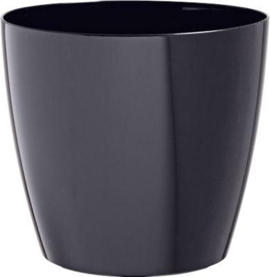 Pflanzentopf schwarz, Ø 250 mm, 2 St.