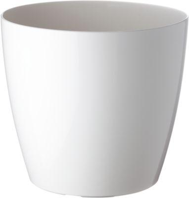 Pflanzentopf weiß, Ø 250 mm, 2 St.