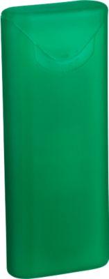 Pflasterbox Care Card, grün/gefrostet