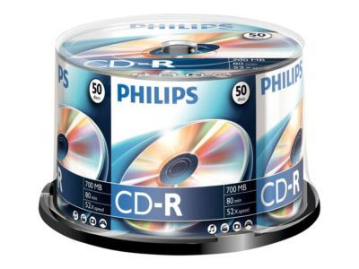 Philips CR7D5NB50 - CD-R x 50 - 700 MB - Speichermedium