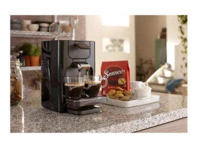 Philips Senseo Quadrante HD7865 - Kaffeemaschine - Deep Black