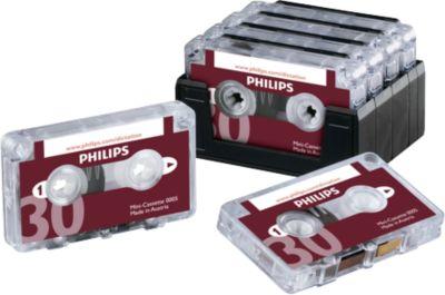 Phillips minicassette, 2 x 15 min.