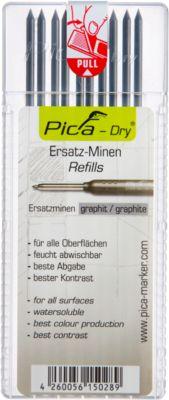Pica Dry navullling, grafiet,10 stuks