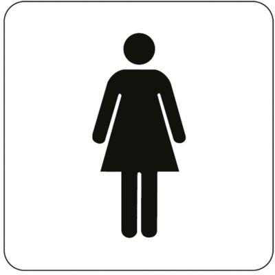 Pictogram Dames, zelfklevend