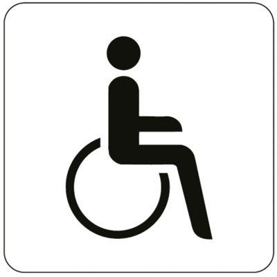 Pictogram rolstoelgebruiker